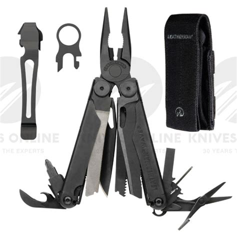 pocket clip for leatherman wave leatherman wave black oxide multitool sheath pocket