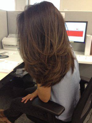 long hair short layer cut and blow out beautiful best 25 blow out hair ideas on pinterest round brush