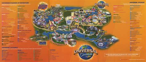 universal map theme park brochures universal orlando resort theme park brochures