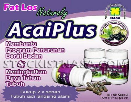 Acaiplus Asli Nasa acai plus nasa pelangsing herbal alami