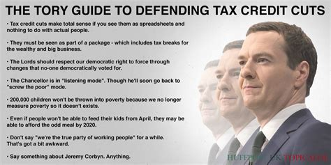 a personal guide to the tax cuts and act what it means for you books the guide to defending tax credit cuts huffpost uk