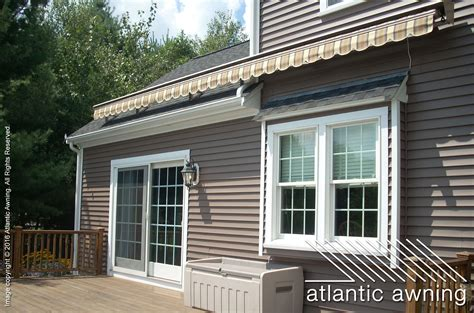 awnings for homes retractable retractable awnings atlantic awning