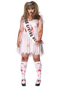 Zombie Costume Plus Size Zombie Prom Queen Costume