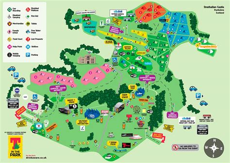 Sitemap Big by T In The Park 2015 Reveal Map And Stage Splits