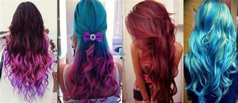 imagenes de tintes con rayos de color rojo tinte pincelle para cabello color rojo azul fucsia o lila