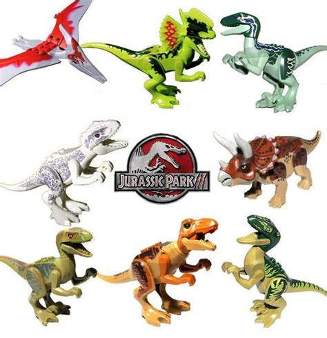 Lele Dinosaur World Jurassic World jurassic world velociraptor triceratops tyrannosaurus rex