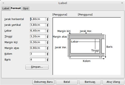 format label undangan 103 chion libreoffice mail merge membuat label nama untuk