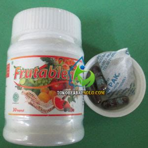 Pemutih Herbal frutablend hwi herbal pemutih alami toko herbal tokoherbalsolo