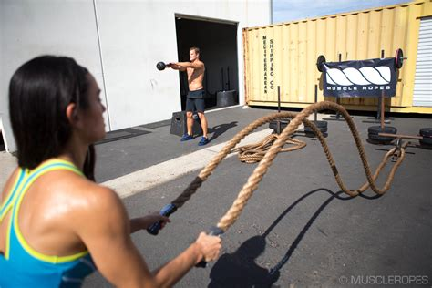 rope swing workout top 10 reasons to use battle ropes this summer by steve