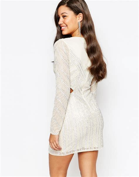 Premium Cut Out Waist Dress missguided missguided premium cutout waist mini dress at