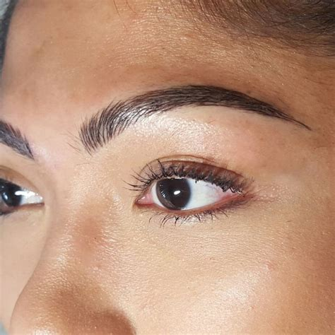 tattooed on eyebrows eyebrow golden touch salon