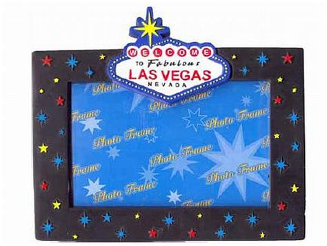 Poster Frame Las Vegas picture frame las vegas nevada 18 5 cm poly souvenir usa america new photo frame ebay