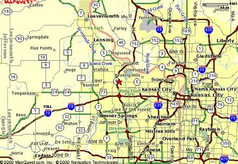 kansas road map kansas maps and state information