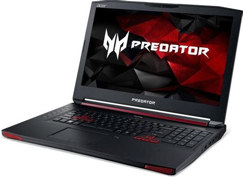 Acer Predator 15 6inc G9 593 71 acer predator 15 g9 593 71eb notebookcheck fr