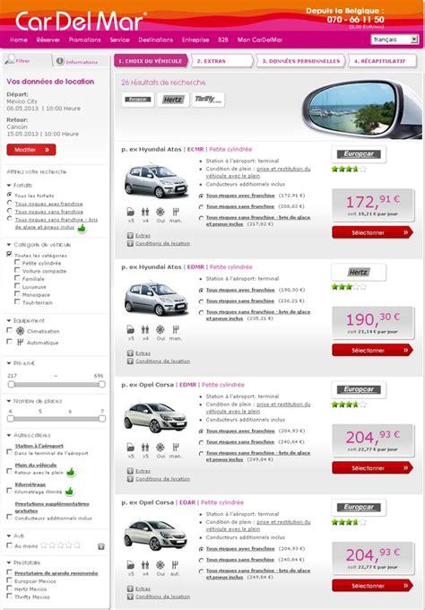 location de voiture pas cher comparateur de prix de html