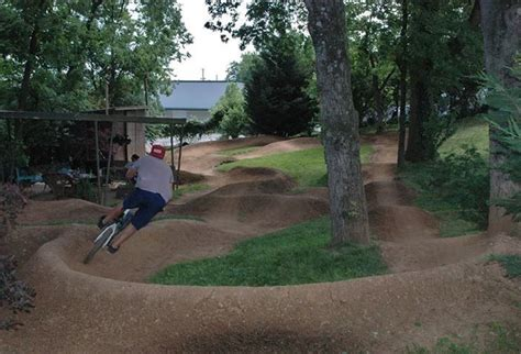 Backyard Pumptrack by Back Yard Track Back Yard Tracks