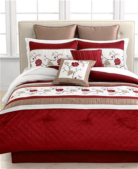 macy bedding sets closeout hallie 8 piece california king comforter set