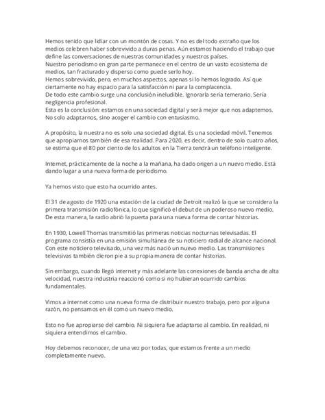 Discurso de Martin Baron en el Festival Gabriel García Márquez