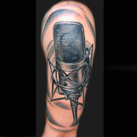 microphone tattoos the gallery for gt studio microphone