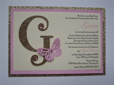 Handmade Quinceanera Invitations - fancy quinceanera invitations you won t believe are cheap
