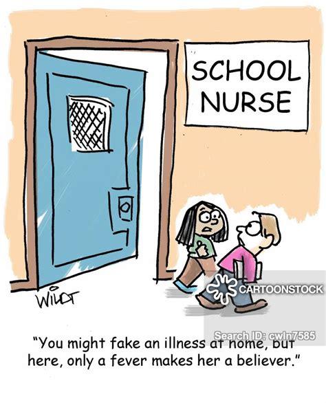 school nurse cartoons  comics funny pictures
