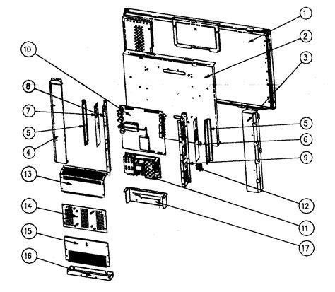 BASE ASSY Diagram & Parts List for Model LTV32W4HDC ... Westinghouse Tv Parts