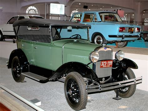 ford h 1930 ford model a phaeton green fvr h ford museum cl
