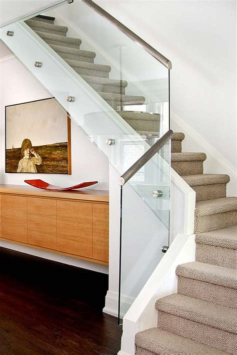 Modern Glass Stairs Design Choosing The Stair Railing Design Style