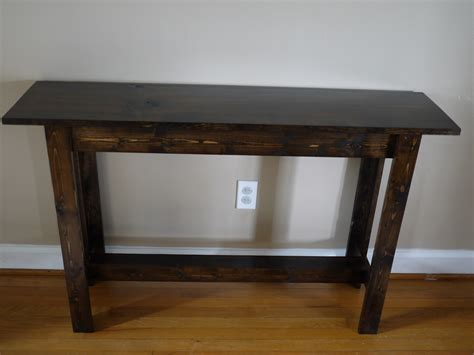ana white   build console table diy projects