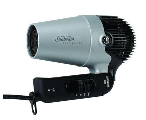Sunbeam Hair Dryer Bag sunbeam hd3004 005 tourmaline 1875 watt folding hair dryer with retractable cord health