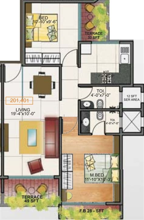 solitaire floor plans unicorn solitaire in ulwe mumbai price location map