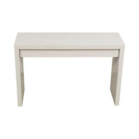black desk with drawers ikea 54 off ikea ikea malm white single narrow desk