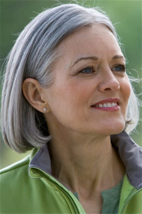 Tips For Wiry Hair | silver gray hair styles