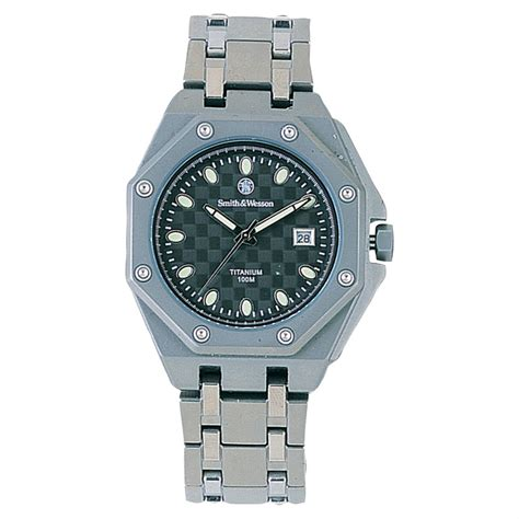 s smith wesson 174 titanium 121344 watches at