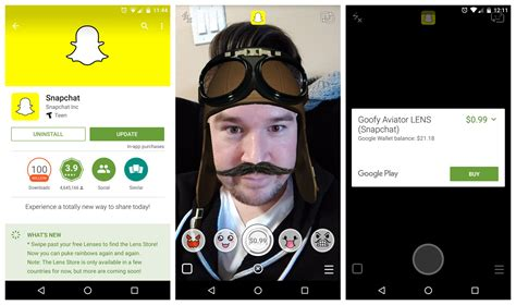 snap chat update 2015 snapchat now charging 1 to keep old lenses