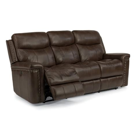 Flexsteel Latitudes Reclining Sofa Flexsteel Latitudes Grover Power Reclining Sofa With Nail