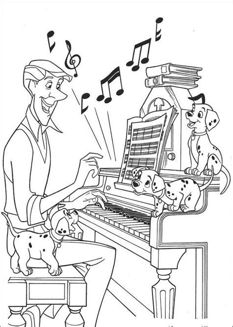 cats musical coloring pages kleurplaten en zo 187 kleurplaten van 101 dalmatiers