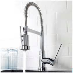 affordable commercial style kitchen faucet kraus nola single lever commercial style kitchen faucet