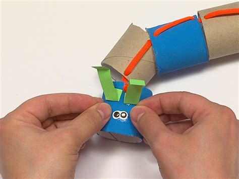 make a how to make a toilet paper roll caterpillar 7 steps