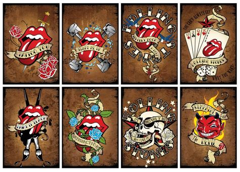rolling stones tattoos best 25 rolling stones ideas on