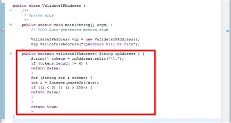 regex pattern ip address how to validate an ip address in java 2 steps with pictures