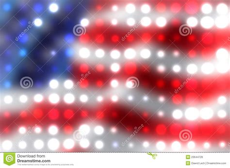 Light Spots On American by American Flag Light Spots Background Royalty Free Stock Image Image 23644726