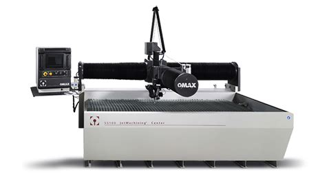 omax waterjet cutting table