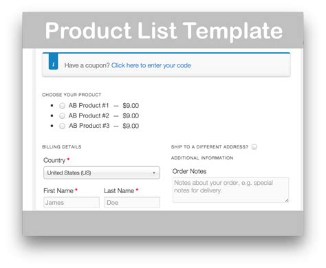 page template plugin woocommerce one page checkout 10 v1 5 3