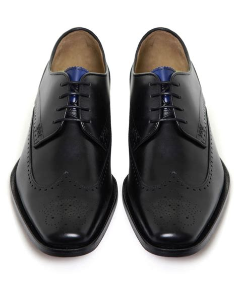 oliver sweeney slippers oliver sweeney leather inis shoes in black for lyst