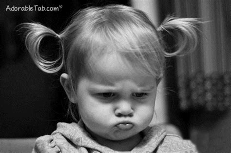 Pouty Face Meme - lovely angry kid girl 187 adorabletab com