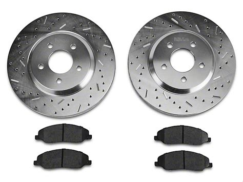 ceramic rotors for mustang review xtreme stop mustang precision drilled slotted rotor w