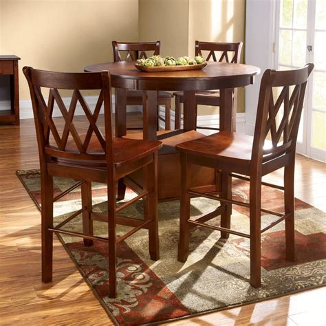 metal high top table high top kitchen table set furniture
