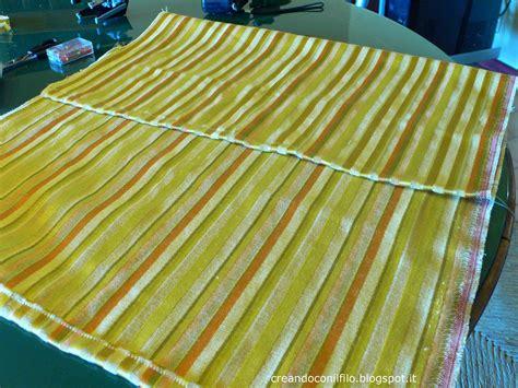 con il cuscino creando con il filo il cuscino senza cerniera