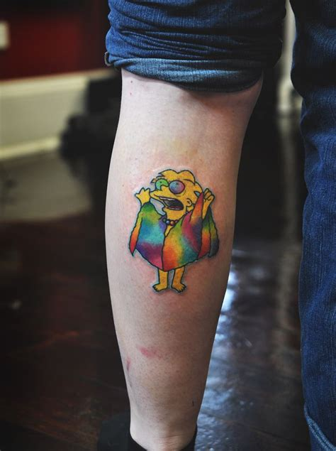 cartoon tattoo sydney by silvia hurricanesyl pinteres